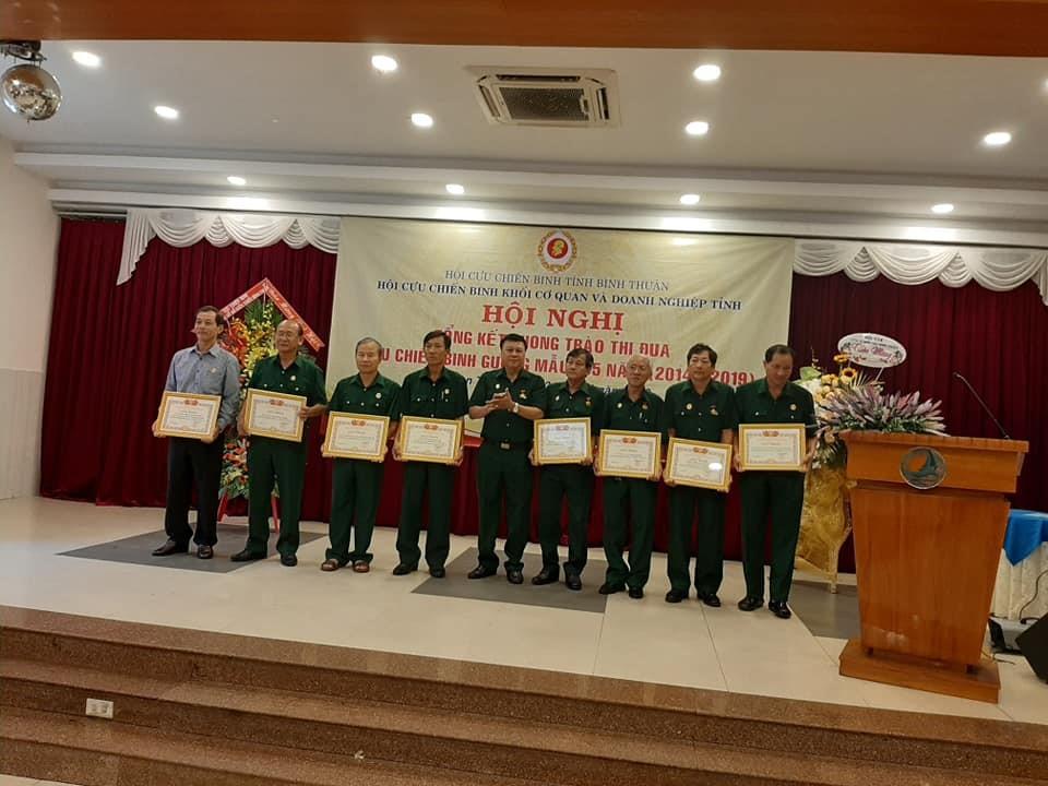 Hình Một năm nhìn lại hoạt động của Hội Cựu chiến binh khối cơ quan và doanh nghiệp tỉnh Bình Thuận