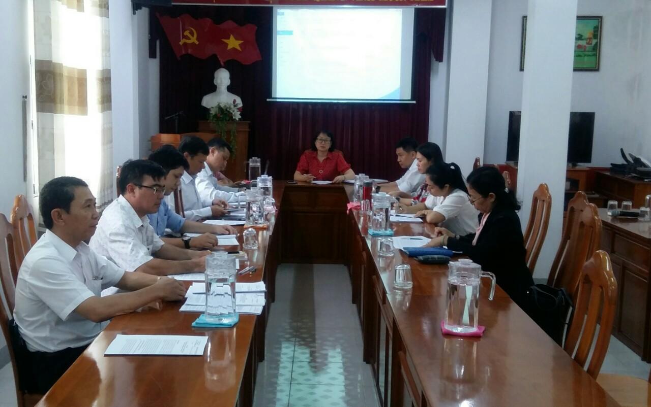 Hình Ban Thường vụ Đảng ủy Khối cơ quan và doanh nghiệp tỉnh họp thường kỳ tháng 12/2020