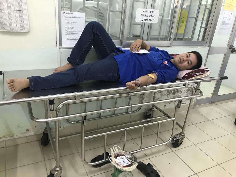 Hình Đoàn Khối các cơ quan tỉnh Bình Thuận tổ chức hiến máu tình nguyện đợt 2 năm 2018