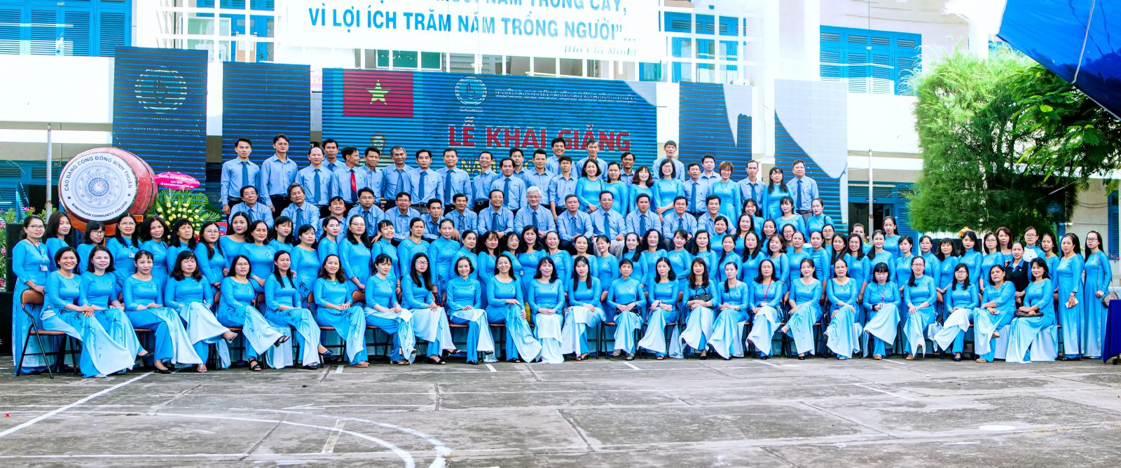 Hình Đảng bộ Trường Cao đẳng Cộng đồng Bình Thuận - điển hình tiên tiến trong học tập và làm theo tư tưởng, đạo đức, phong cách Hồ Chí Minh giai đoạn 2018 - 2020