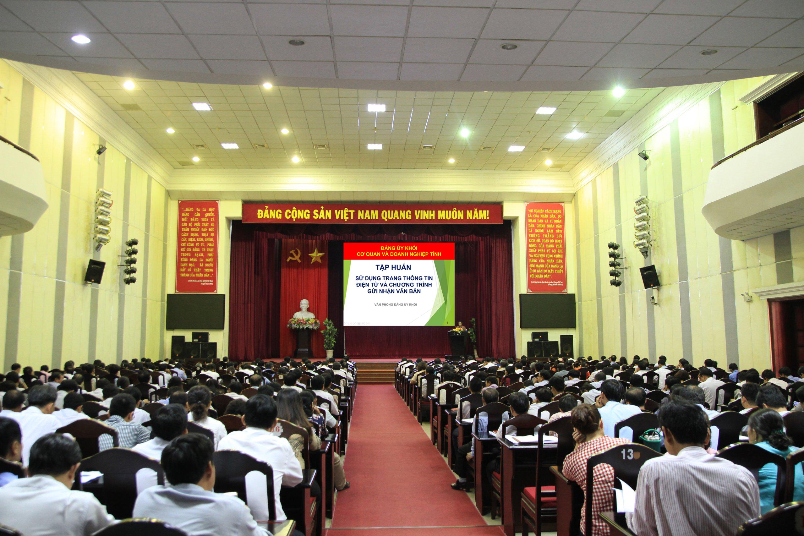 Hình Ứng dụng công nghệ thông tin trong công tác xây dựng Đảng của Đảng ủy Khối cơ quan và doanh nghiệp tỉnh Bình Thuận-một bài toán cần tiếp tục được quan tâm