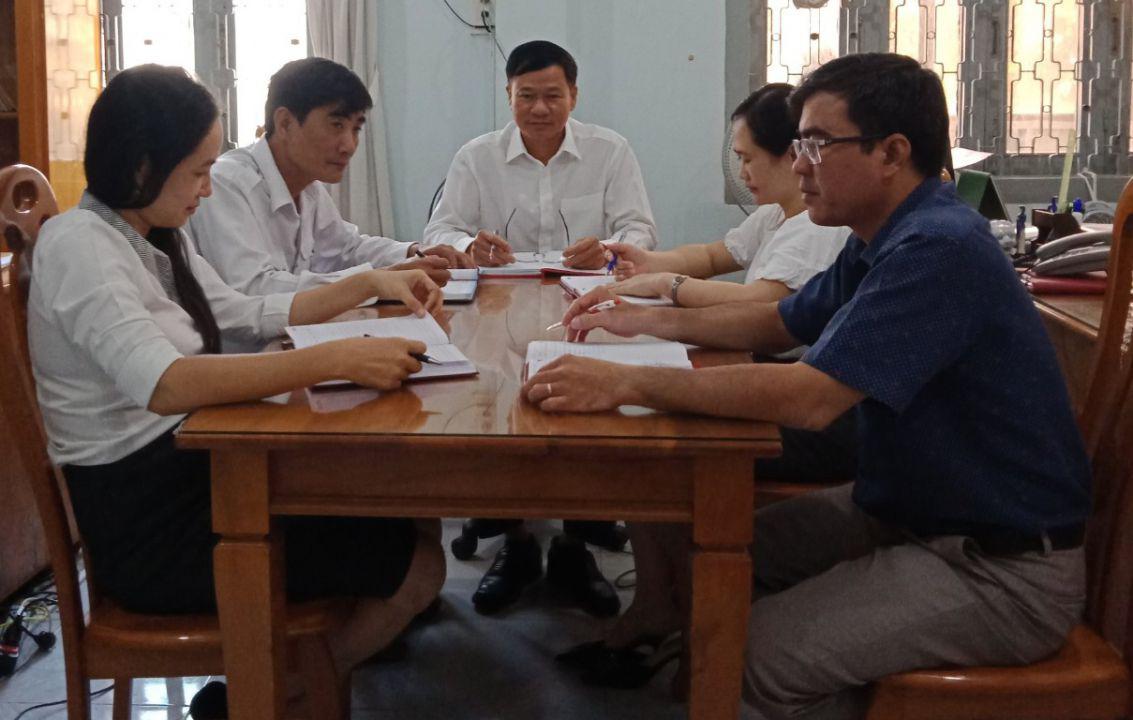 Hình Ủy ban Kiểm tra Đảng ủy Khối cơ quan và doanh nghiệp tỉnh họp định kỳ quý 4/2020